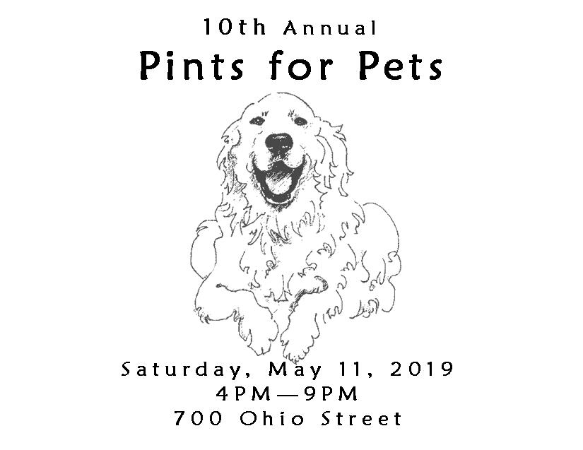 Pints for Pets 2019 - May 11, 2019